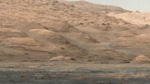 Foto de Marte tirada pelo rover Curiosity