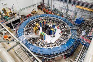 Experimento de medição do momento magnético de muóns que poderá levar à descoberta de novas partículas