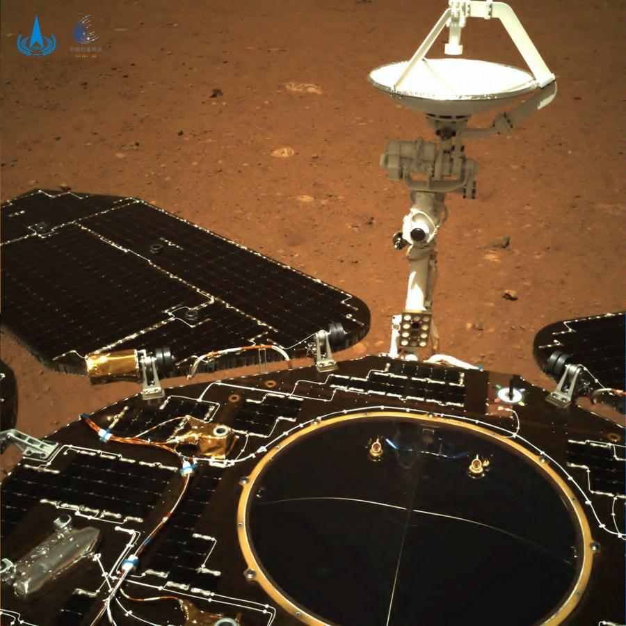 Zhurong em Marte