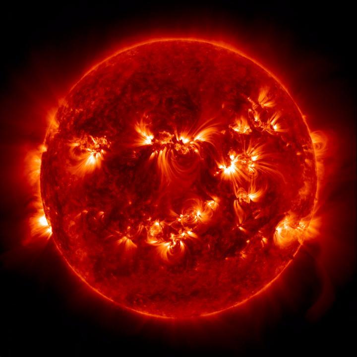 Atividade Solar, ciclo do Sol