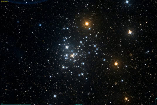 aglomerado de estrelas