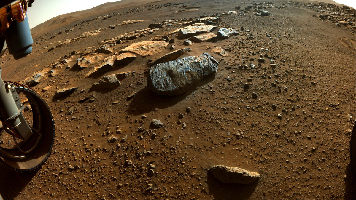 Rover Perseverance da Nasa coleta primeiras amostras de rocha em Marte