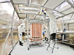 Experimento que pode ter detectado energia escura
